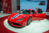 Ferrari 458 Speciale world premiere — Stock Photo