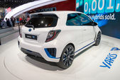 Toyota Yaris Hybrid-R concept — Stock Photo