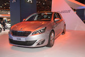 Peugeot 308 german premiere — Stock Photo