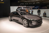 Opel Monza Concept world premiere — Stock Photo