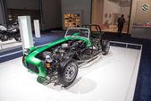 Suzuki starodawny samochód wyścigowy — Zdjęcie stockowe