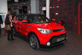 Kia Soul new generation — 图库照片