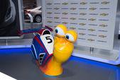 Racing snail from DreamWorks cartoon — Foto de Stock