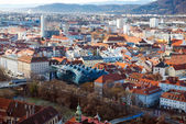 Panorama of Graz — Stockfoto