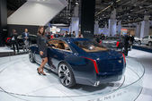 Cadillac Elmiraj European premiere — Stock Photo
