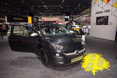 Opel ADAM Black Link world premiere — Stock Photo