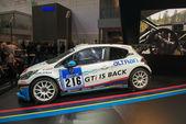 Peugeot 208 race car — Stock Photo