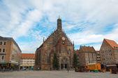 Frauenkirche, Nurnberg — Stok fotoğraf