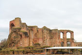 Roman baths  in Trier — Foto Stock