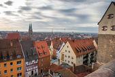воздушная панорама города нюрнберг — Стоковое фото
