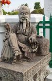 Chinese standbeeld — Stockfoto