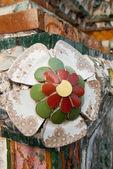 Ceramic flower — Stock Photo