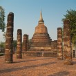 Stock Photo: Ruins of buddhist temple