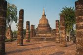 Ruines du temple bouddhiste — Photo