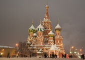St. Basil's Cathedral — 图库照片