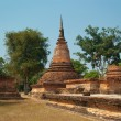 Ruins of buddhist temple - Stock Photo