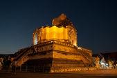 Wat chedi luang — Stock fotografie