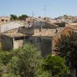 Alcudia roofs — Stock Photo