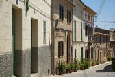 Alcudia houses — Stock Photo