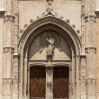 Entrance portal of La Lonja monument — ストック写真