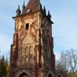 Ruined tower Chapelle — Stock Photo