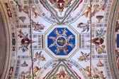 Ceiling in Vatican Museum — Stock Photo