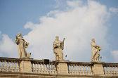 The Vatican Bernini's colonnade in Rome — Zdjęcie stockowe