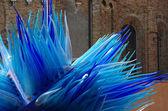 Blue Murano glass — Stock Photo