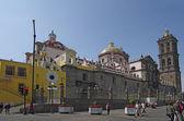 Puebla Cathedral — Stock Photo
