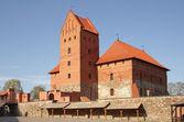 Średniowieczny zamek w Trokach — Zdjęcie stockowe