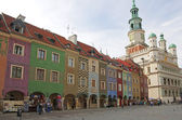 Old market square — Stock Photo
