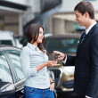 Car sales — Stock Photo #13432782