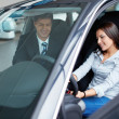 buying a car — Stock Photo
