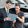 Stockfoto: Buying car
