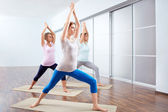 Yoga position — Stock Photo