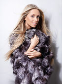 Fur-coat — Stock Photo