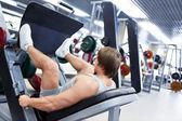 In fitness club — Stock Photo