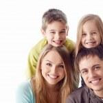 Happy family — Stock Photo #22097331