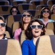 At the cinema — Stock Photo #24690963