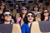 At the cinema — Stock Photo