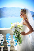 Smiling bride — Stock Photo