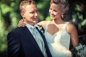 šťastný pár — Stock fotografie