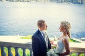 Novomanžele — Stock fotografie