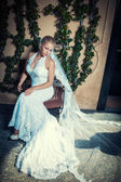 Attractive bride — Stock Photo