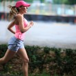 Running girl — Stock Photo #38482847