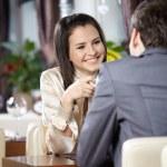 Romantic meeting — Stock Photo #4019161