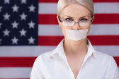 Freedom of speech — Stock Photo