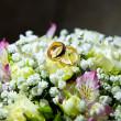 Wedding rings — Stock Photo #12429513