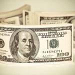 One hundred dollars US — Stock Photo #18526035