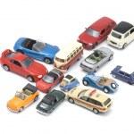Toy car closeup — Stock Photo #1616996